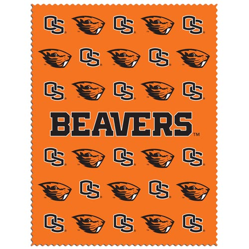 "Oregon St. Beavers iPad Microfiber Cleaning Cloth - Our collegiate iPad microfiber cleaning cloth is great for keeping your iPad screen free of oil, dirt and smudges. The cloth is sized to perfectly fit the iPad screen so that it lays over it as added protection when the device is in a case. 7.5"" X 9.5"" cloth. Thank you for shopping with CrazedOutSports.com"