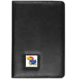 Kansas Jayhawks iPad Air Folio Case - This attractive Kansas Jayhawks iPad Air folio case provides all over protection for your tablet while allowing easy flip access. The Kansas Jayhawks iPad Air Folio cover is designed to allow you to fully utilize your tablet without ever removing it from the padded, protective cover. The enameled team emblem makes this case a great way to show off your team pride! Thank you for shopping with CrazedOutSports.com
