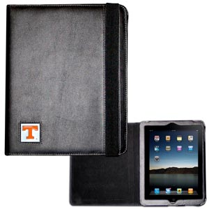 Tennessee iPad Case - The perfect iPad accessory. The black case hold the iPad 1 and the iPad 2 with Smart Cover and features a cast and enameled school emblem. Thank you for shopping with CrazedOutSports.com