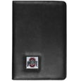 Ohio St. Buckeyes iPad Air Folio Case - This attractive Ohio St. Buckeyes iPad Air folio case provides all over protection for your tablet while allowing easy flip access. The cover is designed to allow you to fully utilize your tablet without ever removing it from the padded, protective cover. The enameled team emblem makes this case a great way to show off your team pride! Thank you for shopping with CrazedOutSports.com
