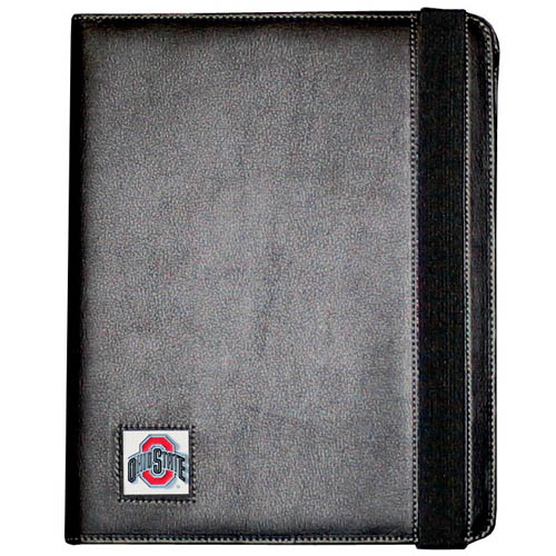 Ohio St. iPad 2 & 3 Case - The perfect iPad accessory. The black case fits the iPad 2 and iPad 3 and allows you to access all functions easily while the device remains in the case. The case features a cast and enameled school emblem. Thank you for shopping with CrazedOutSports.com