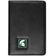 Michigan St. Spartans iPad Air Folio Case - This attractive Michigan St. Spartans iPad Air Folio Case provides all over protection for your tablet while allowing easy flip access. The Michigan St. Spartans iPad Air Folio Case cover is designed to allow you to fully utilize your tablet without ever removing it from the padded, protective cover. The enameled team emblem makes this case a great way to show off your team pride! Thank you for shopping with CrazedOutSports.com