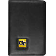 Georgia Tech Yellow Jackets iPad Air Folio Case - This attractive Georgia Tech Yellow Jackets iPad Air folio case provides all over protection for your tablet while allowing easy flip access. The cover is designed to allow you to fully utilize your tablet without ever removing it from the padded, protective cover. The enameled team emblem makes this case a great way to show off your team pride! Thank you for shopping with CrazedOutSports.com