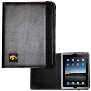 Iowa Hawkeyes iPad Case - Black - Iowa Hawkeyes iPad Case is the perfect iPad accessory. The Iowa Hawkeyes Black iPad Case holds the iPad 1 and the iPad 2 with Smart Cover and features a cast and enameled school emblem. Thank you for shopping with CrazedOutSports.com