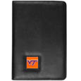 Virginia Tech Hokies iPad Air Folio Case - This attractive Virginia Tech Hokies iPad Air folio case provides all over protection for your tablet while allowing easy flip access. The cover is designed to allow you to fully utilize your tablet without ever removing it from the padded, protective cover. The enameled team emblem makes this case a great way to show off your team pride! Thank you for shopping with CrazedOutSports.com