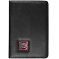 S. Carolina Gamecocks iPad Air Folio Case - This attractive S. Carolina Gamecocks iPad Air folio case provides all over protection for your tablet while allowing easy flip access. The cover is designed to allow you to fully utilize your tablet without ever removing it from the padded, protective cover. The enameled team emblem makes this case a great way to show off your team pride! Thank you for shopping with CrazedOutSports.com