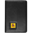 Arizona St. Sun Devils iPad Air Folio Case - This attractive Arizona St. Sun Devils iPad Air folio case provides all over protection for your tablet while allowing easy flip access. The cover is designed to allow you to fully utilize your tablet without ever removing it from the padded, protective cover. The enameled team emblem makes this case a great way to show off your team pride! Thank you for shopping with CrazedOutSports.com
