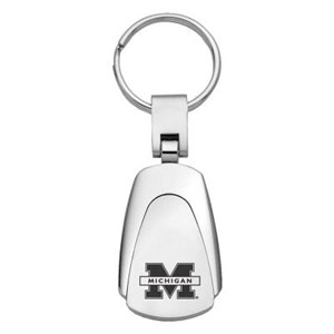 Michigan Wolverines Etched Key Chain - Officially licensed collegiate Michigan Wolverines Etched Key Chain with a classic chrome finish and laser etched logo. This Michigan Wolverines Etched Key Chain makes the perfect gift! Thank you for shopping with CrazedOutSports.com