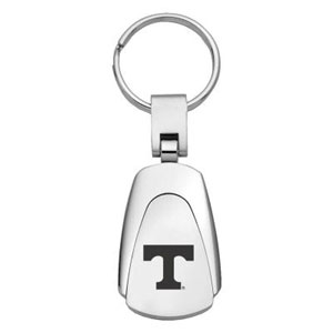 Tennessee Volunteers Key Chain - Officially licensed collegiate key ring with a classic chrome finish and laser etched logo.  Thank you for shopping with CrazedOutSports.com