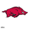 "Arkansas Razorbacks 8"" Logo Magnet - Make sure everyone knows your are a Arkansas Razorbacks fan with this big 8"" Arkansas Razorbacks 8"" Logo Magnet. These officially licensed magnets stick to any magnetic metal and our outdoor rated! Perfect for game day and everyday! Thank you for shopping with CrazedOutSports.com"