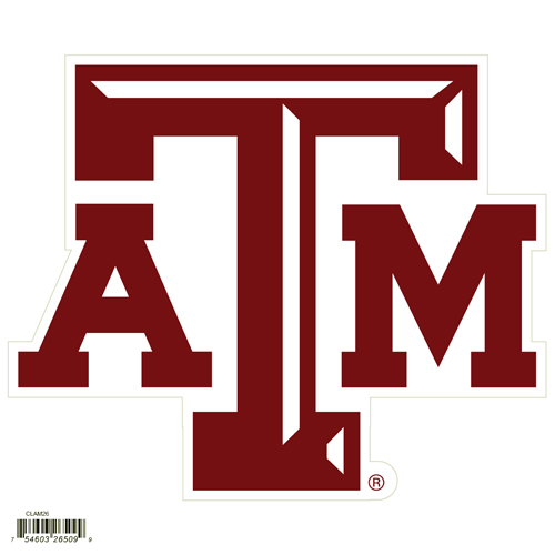 "Texas A and M Aggies 8"" Logo Magnet - Make sure everyone knows your are a fan with our big 8"" logo magnets. These officially licensed magnets stick to any magnetic metal and our outdoor rated! Perfect for game day and everyday! Thank you for shopping with CrazedOutSports.com"