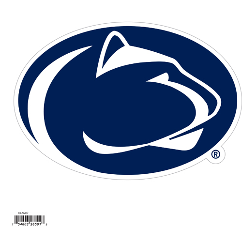 "Penn St. Nittany Lions 8"" Logo Magnet - Make sure everyone knows your are a fan with our big 8"" logo magnets. These officially licensed magnets stick to any magnetic metal and our outdoor rated! Perfect for game day and everyday! Thank you for shopping with CrazedOutSports.com"