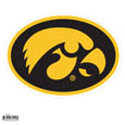 "Iowa Hawkeyes 8"" Logo Magnet - Make sure everyone knows your are a fan with our big Iowa Hawkeyes 8"" logo magnet. These officially licensed magnets stick to any magnetic metal and our outdoor rated! Perfect for game day and everyday! Thank you for shopping with CrazedOutSports.com"