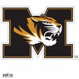 """Missouri Tigers 8"""" Logo Magnet"" - ""Make sure everyone knows your are a fan with our big 8"""" Missouri Tigers logo magnets. These officially licensed magnets stick to any magnetic metal and our outdoor rated! Perfect for game day and everyday!"" Thank you for shopping with CrazedOutSports.com"