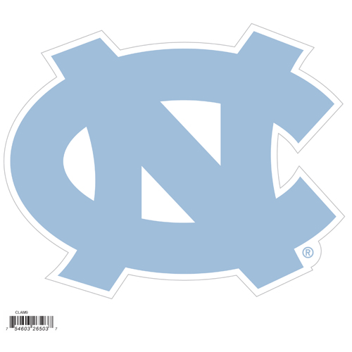 "N. Carolina Tar Heels 8"" Logo Magnet - Make sure everyone knows your are a fan with our big 8"" logo magnets. These officially licensed magnets stick to any magnetic metal and our outdoor rated! Perfect for game day and everyday! Thank you for shopping with CrazedOutSports.com"