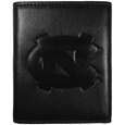 N. Carolina Tar Heels Embossed Leather Tri-fold Wallet