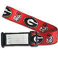 College Luggage Strap - Georgia Bulldogs