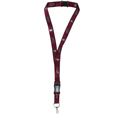 Southern Illinois Salukis Lanyard - Our Southern Illinois Salukis lanyards are a great way to show off your school pride and keep track of your keys, ID's, badges and much more. The lanyards are made of a comfortable nylon with screen printed school logos. They feature safety closures that disconnect if the lanyard becomes caught on something. Thank you for shopping with CrazedOutSports.com