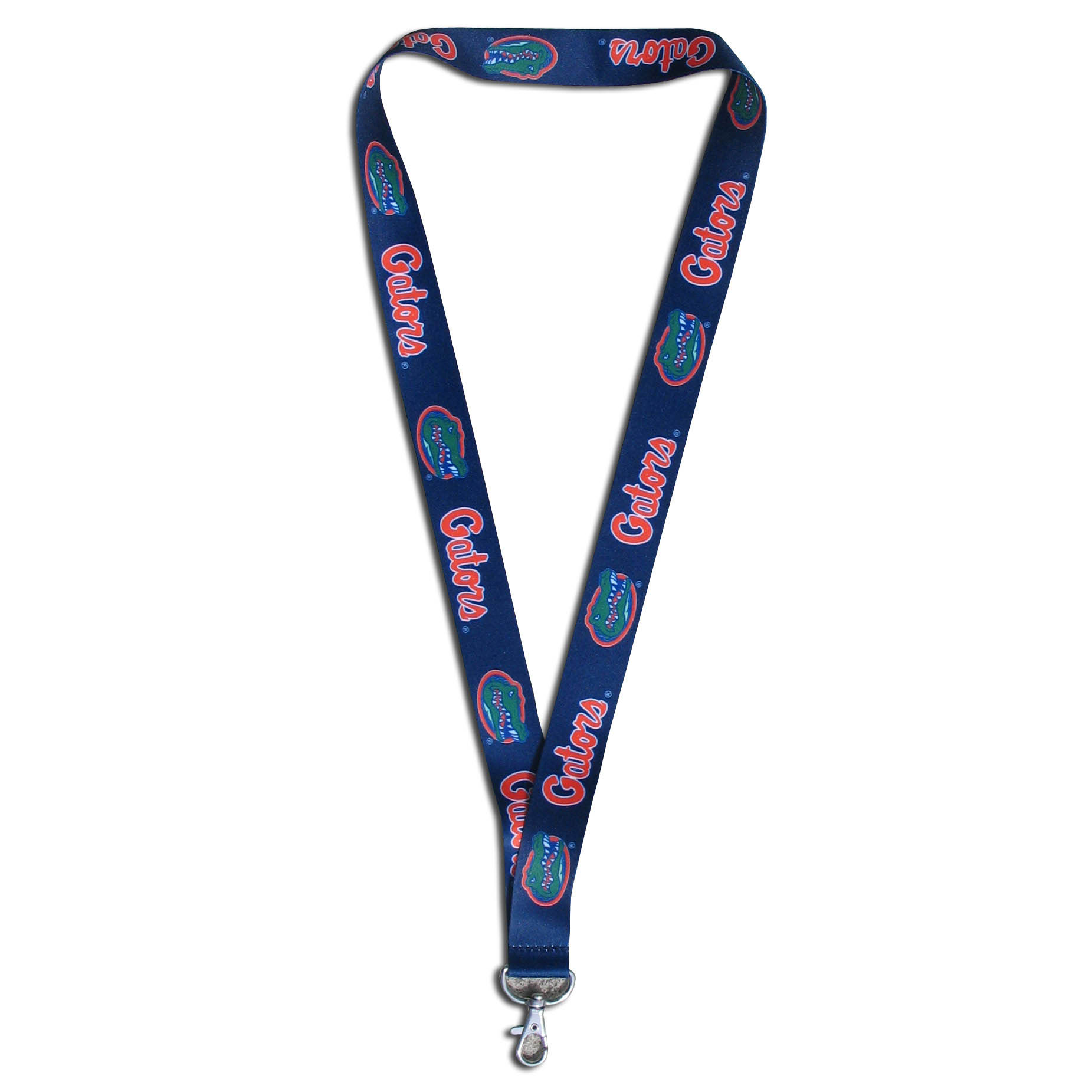 Florida Gators Lanyard - Our Florida Gators lanyards are a great way to show off your school pride and keep track of your keys, ID's, badges and much more. The lanyards are made of a comfortable nylon with screen printed school logos. They feature safety closures that disconnect if the lanyard becomes caught on something.