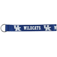 Kentucky Wildcats  Lanyard Key Chain - Our wrist strap lanyard key chain is made of durable and comfortable woven material and is a not only a great key chain but an easy way to keep track of your keys. The bright Kentucky Wildcats graffics makes this key chain easy to find in gym bags, purses and in the dreaded couch cushions.