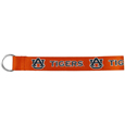 Auburn Tigers  Lanyard Key Chain - Our wrist strap lanyard key chain is made of durable and comfortable woven material and is a not only a great key chain but an easy way to keep track of your keys. The bright Auburn Tigers graffics makes this key chain easy to find in gym bags, purses and in the dreaded couch cushions.