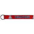 Arizona Wildcats  Lanyard Key Chain - Our wrist strap lanyard key chain is made of durable and comfortable woven material and is a not only a great key chain but an easy way to keep track of your keys. The bright Arizona Wildcats graffics makes this key chain easy to find in gym bags, purses and in the dreaded couch cushions.