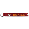 Virginia Tech Hokies  Lanyard Key Chain - Our wrist strap lanyard key chain is made of durable and comfortable woven material and is a not only a great key chain but an easy way to keep track of your keys. The bright Virginia Tech Hokies graffics makes this key chain easy to find in gym bags, purses and in the dreaded couch cushions.