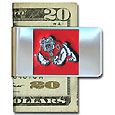 Fresno St. Bulldogs Steel Money Clip - Our stainless steel money clip has classic style and Fresno St. Bulldogs team pride wrap up in a beautiful package. The attractive clip features a metal Fresno St. Bulldogs emblem with expertly enameled detail Thank you for shopping with CrazedOutSports.com