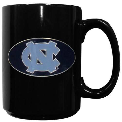 N. Carolina Ceramic Coffee Mug - Our officiallly licensed college ceramic coffee mugs have an 11 oz capacity and feature a fully cast and hand enameled school emblem. Thank you for shopping with CrazedOutSports.com