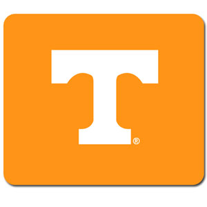 "Tennessee Volunteers Mouse Pad - Our quality collegiate mouse pad features a silk screened Tennessee Volunteers logo. 8"" x 7"" Thank you for shopping with CrazedOutSports.com"