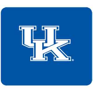 "Kentucky Wildcats Mouse Pad - Our quality collegiate mouse pad features a silk screened Kentucky Wildcats logo. 8"" x 7"" Thank you for shopping with CrazedOutSports.com"