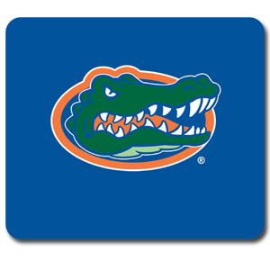 "Florida Gators Mouse Pad - Our quality collegiate mouse pad features a silk screened Florida Gators logo. 8"" x 7"" Thank you for shopping with CrazedOutSports.com"