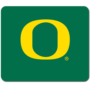 "Oregon Ducks Mouse Pad - Our quality collegiate mouse pad features a silk screened school logo. 8"" x 7"" Thank you for shopping with CrazedOutSports.com"