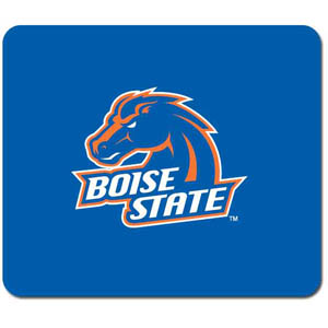 "Boise State Broncos Mouse Pad - Our quality collegiate mouse pad features a silk screened Boise State Broncos logo. 8"" x 7"" Thank you for shopping with CrazedOutSports.com"