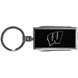 Wisconsin Badgers Multi-tool Key Chain, Black