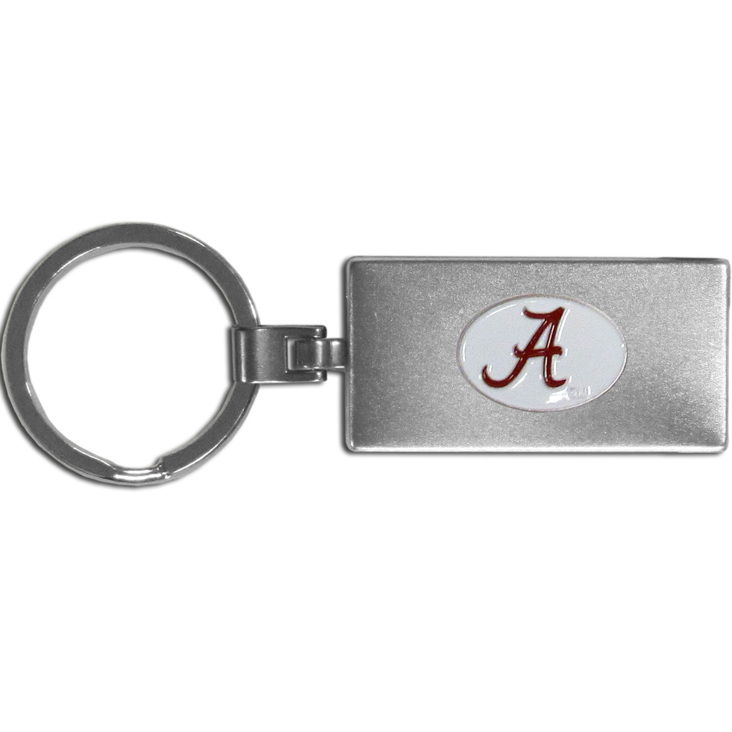 Alabama Crimson Tide Multi-tool Key Chain - Be the hero at the tailgate, camping, or on a Friday night with your Alabama Crimson Tide Multi-Tool Keychain which comes complete with bottle opener, scissors, knife, nail file and screw driver. Be it opening a package or a beverage Siskiyou's Multi-Tool Keychain goes wherever your keys do. The keychain hangs at 4 inches long when closed.