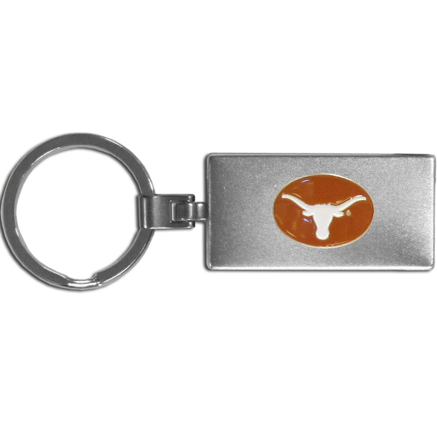 Texas Longhorns Multi-tool Key Chain - Be the hero at the tailgate, camping, or on a Friday night with your Texas Longhorns Multi-Tool Keychain which comes complete with bottle opener, scissors, knife, nail file and screw driver. Be it opening a package or a beverage Siskiyou's Multi-Tool Keychain goes wherever your keys do. The keychain hangs at 4 inches long when closed.