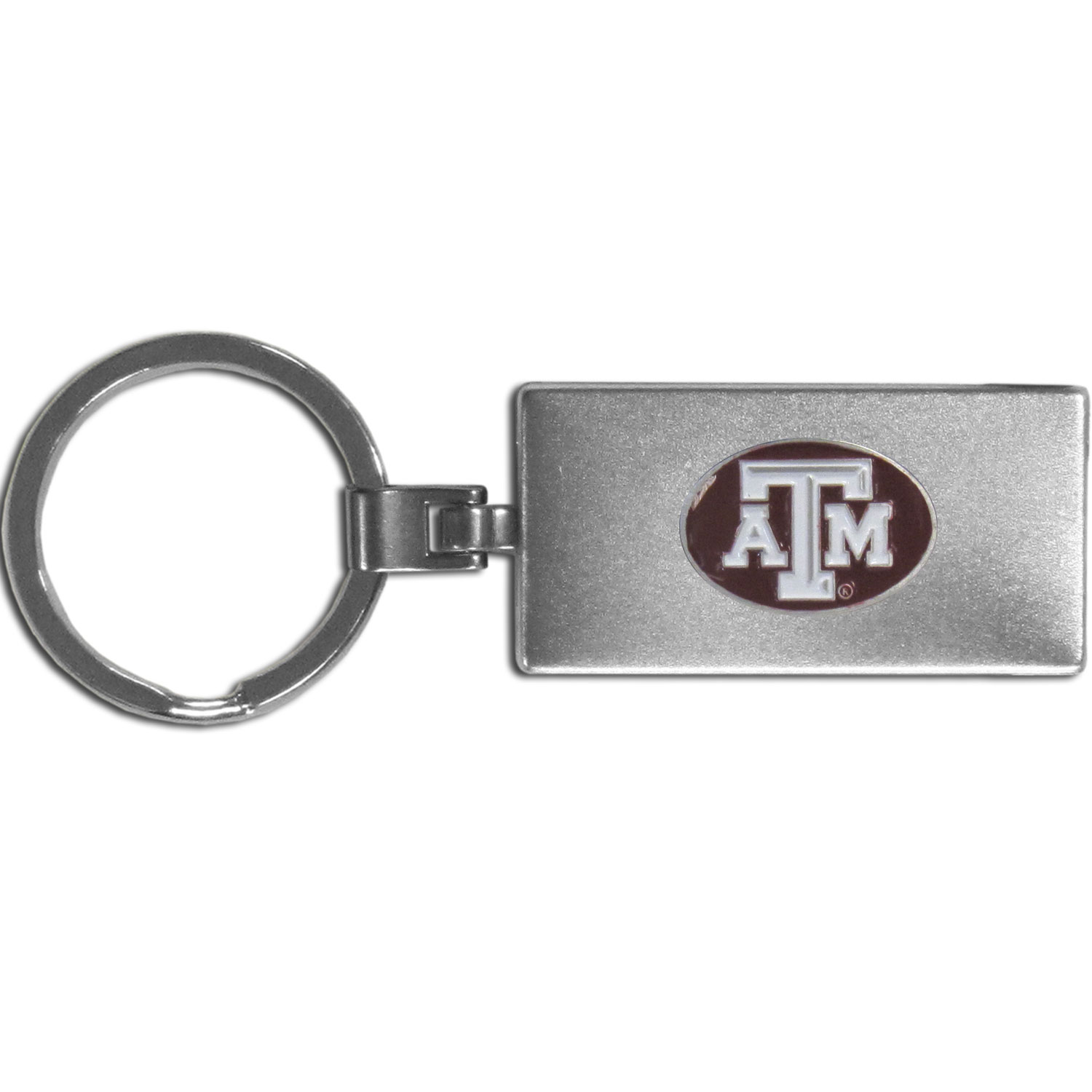 Texas A and M Aggies Multi-tool Key Chain - Be the hero at the tailgate, camping, or on a Friday night with your Texas A & M Aggies Multi-Tool Keychain which comes complete with bottle opener, scissors, knife, nail file and screw driver. Be it opening a package or a beverage Siskiyou's Multi-Tool Keychain goes wherever your keys do. The keychain hangs at 4 inches long when closed.