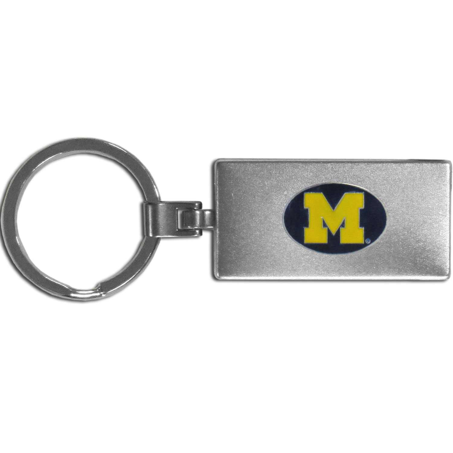 Michigan Wolverines Multi-tool Key Chain - Be the hero at the tailgate, camping, or on a Friday night with your Michigan Wolverines Multi-Tool Keychain which comes complete with bottle opener, scissors, knife, nail file and screw driver. Be it opening a package or a beverage Siskiyou's Multi-Tool Keychain goes wherever your keys do. The keychain hangs at 4 inches long when closed.
