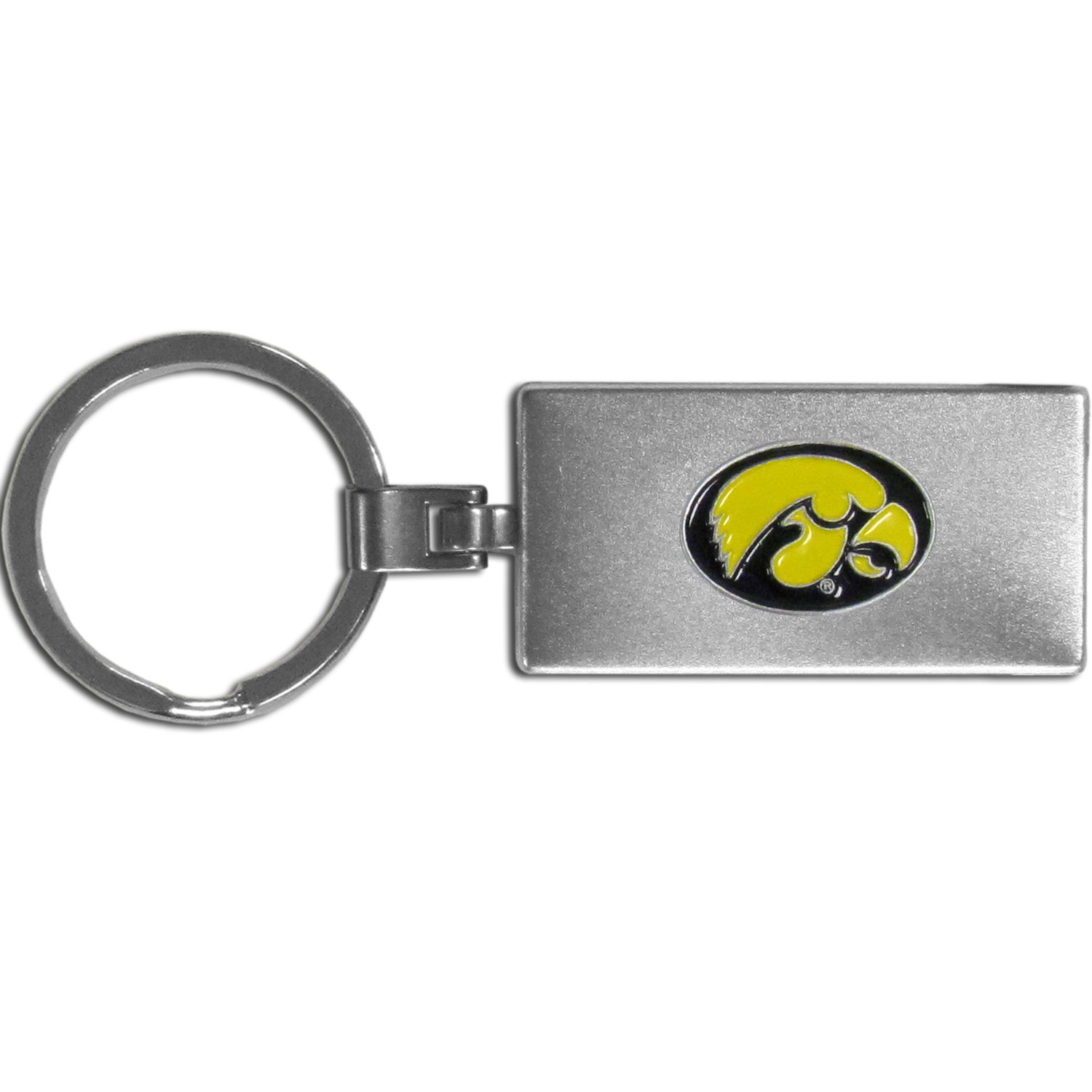Iowa Hawkeyes Multi-tool Key Chain - Be the hero at the tailgate, camping, or on a Friday night with your Iowa Hawkeyes Multi-Tool Keychain which comes complete with bottle opener, scissors, knife, nail file and screw driver. Be it opening a package or a beverage Siskiyou's Multi-Tool Keychain goes wherever your keys do. The keychain hangs at 4 inches long when closed.