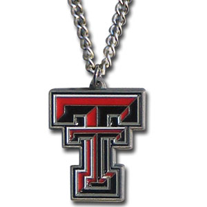 "College Pendant - Texas Tech Raiders - Our college pendants feature 3D detail and are hand enameled. They come on an 18"" chain. Check out our entire line of college merchandise! Thank you for shopping with CrazedOutSports.com"