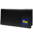 PITT Panthers Leather Checkbook Cover