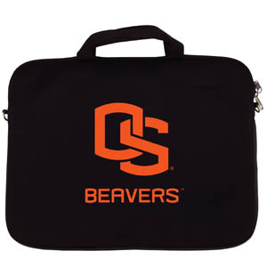 "Oregon St.  Lap Top Case - Our Oregon St. Beavers neoprene laptop bags is designed to fit 15"" and most 17"" laptops and are approved to pass airport security without removing the equipment from the bag. Some 17"" laptops are designed with a wider border and may not fit this bag. (inner bag dimensions: 11 ¾""t x 15""w) Thank you for shopping with CrazedOutSports.com"