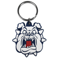 Fresno St. Bulldogs Flex Key Chain - Our fun, flexible Fresno State Bulldogs key chains are made of a rubbery material that is layered to create a bright, textured Fresno State logo.Check out all our other great NFL, NCAA, MLB, NHL product line up. Thank you for shopping Crazed Out Sports!!
