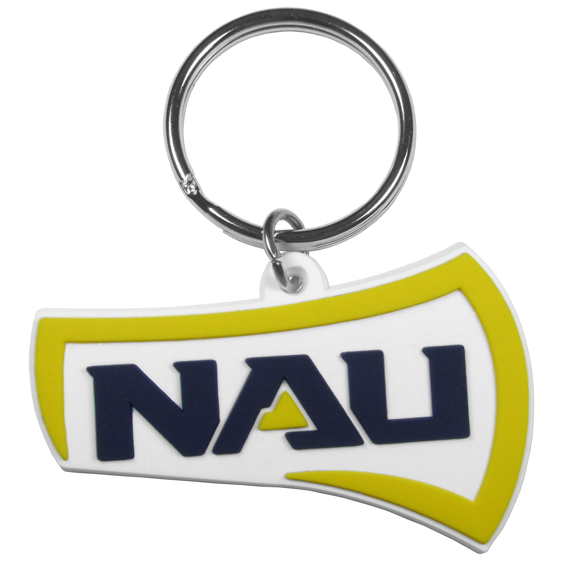 Northern Arizona Lumberjacks Flex Key Chain - Our fun, flexible Northern Arizona Lumberjacks key chains are made of a rubbery material that is layered to create a bright, textured logo.
