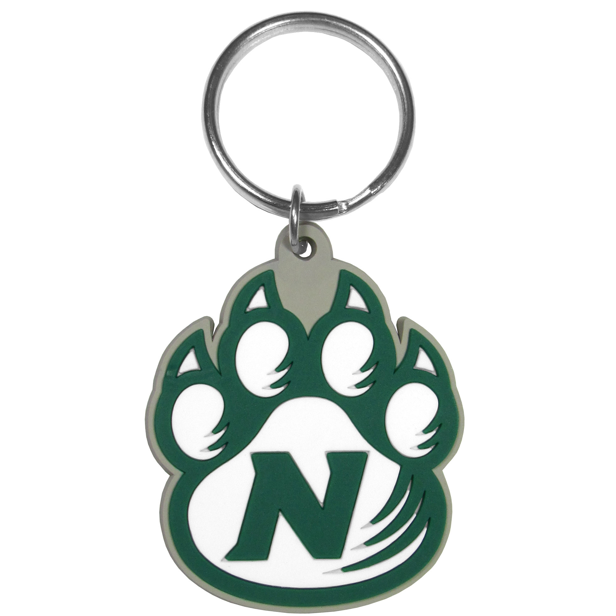 Northwest Missouri St. Bearcats Flex Key Chain - Our fun, flexible Northwest Missouri St. Bearcats key chains are made of a rubbery material that is layered to create a bright, textured logo.
