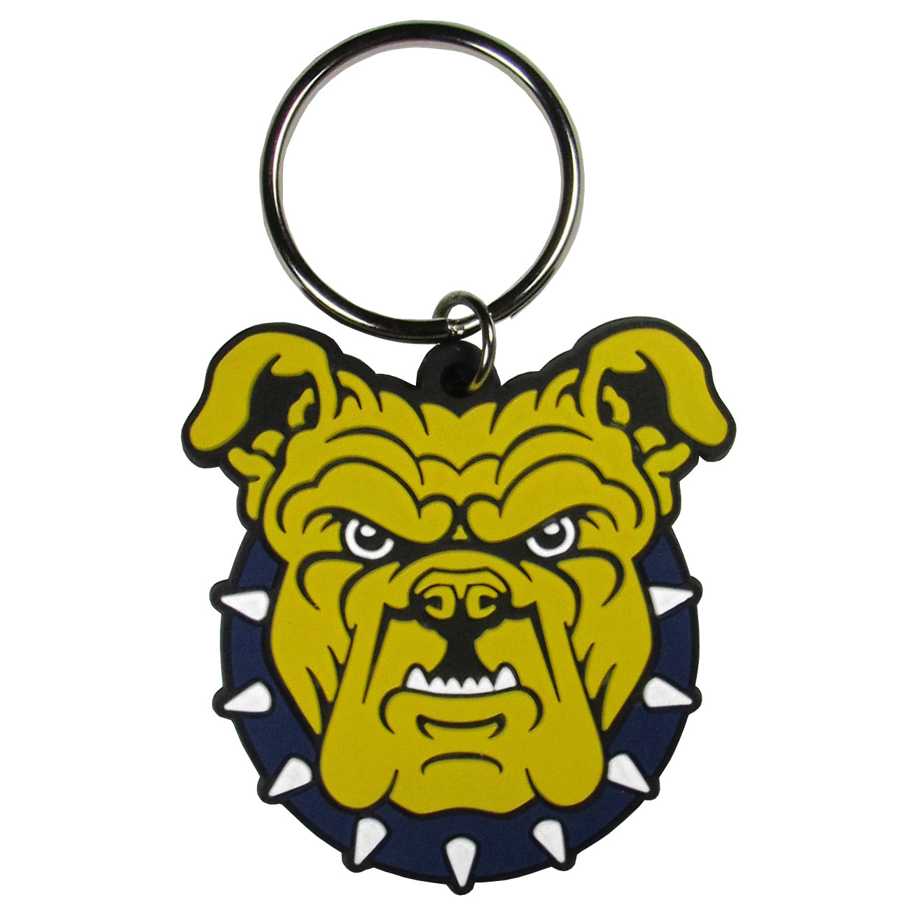 N. Carolina A&T Aggies Flex Key Chain - Our fun, flexible N. Carolina A&T Aggies key chains are made of a rubbery material that is layered to create a bright, textured logo.