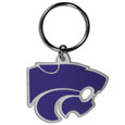 Kansas St. Wildcats Flex Key Chain - This Kansas St. Wildcats College Flexi key chain is made of a rubbery material that is layered cut in the Kansas St. Wildcats primary logo. Thank you for shopping with CrazedOutSports.com