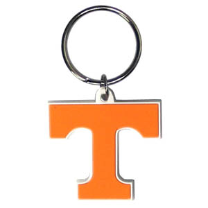 Tennessee Flexi Key Chain - Our College Flexi key chains are made of a rubbery material that is layered cut in the Tennessee Longhorns primary logo. Thank you for shopping with CrazedOutSports.com