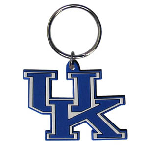 Kentucky Flexi Key Chain - Our College Flexi key chains are made of a rubbery material that is layered cut in the Kentucky Wildcats primary logo. Thank you for shopping with CrazedOutSports.com